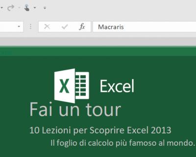 Le novità di Excel 2013