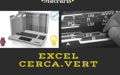 Ricerca dati in Excel: CERCA.VERT