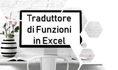 Il Traduttore di Funzioni in Excel