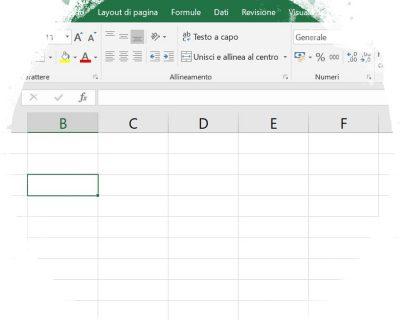 Lavoriamo con le Celle in Excel