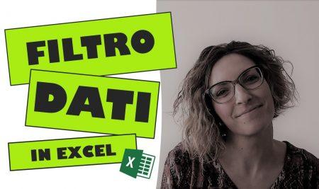 Il Filtro dati in Excel