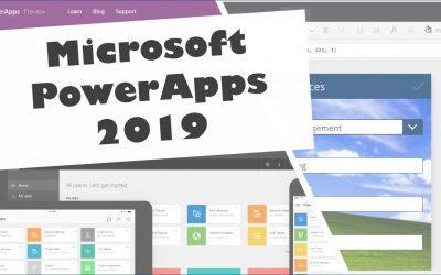 Introduzione a Microsoft PowerApps 2019
