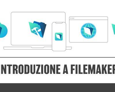 Introduzione a FileMaker 2017 | 2018